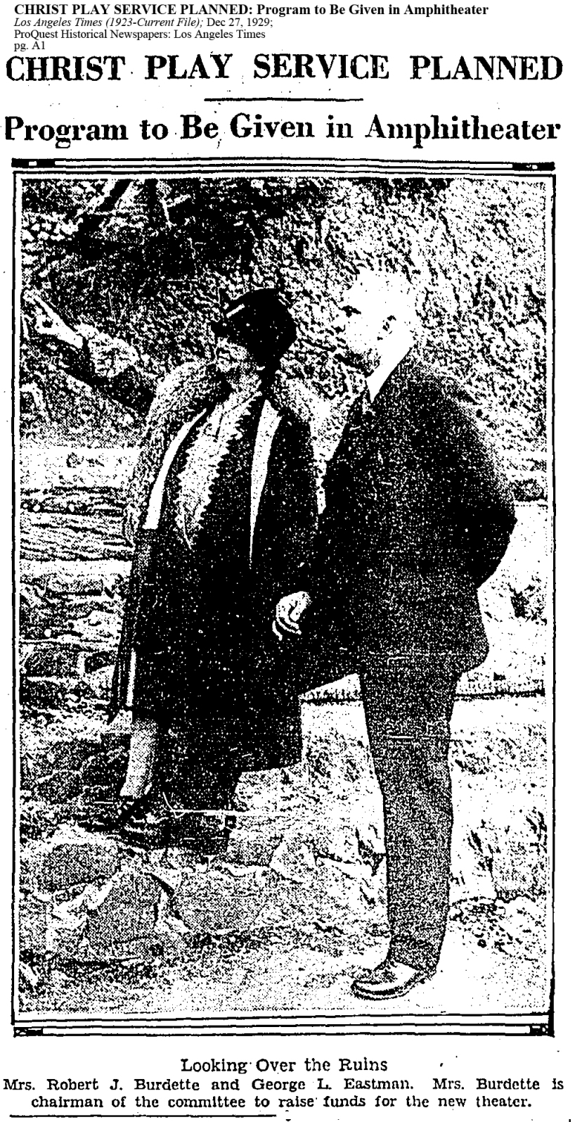 1929 Dec 27 Mystery solved Clara Burdette revealed photo