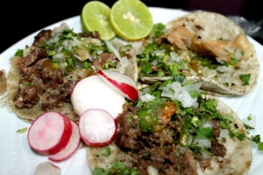 Tacos Estilo Guadalajara's signature al vapor tacos. (Courtesy of Yelp)