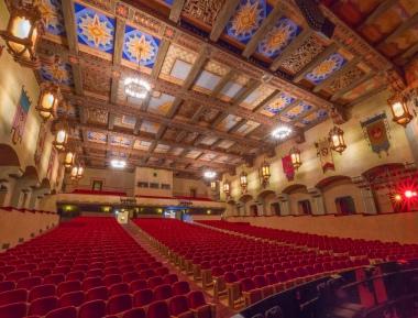 The beautiful San Gabriel Mission Playhouse (Courtesy Michael de la Paz)