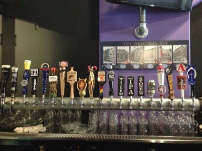 The taps at Taps Valley Gastropub! (Courtesy of Yelp)