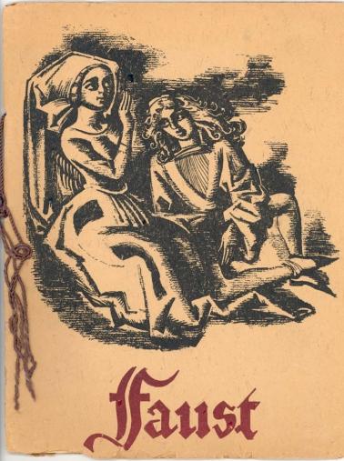 1938 Faust Souvenir Program Ford Theatres Collection-1
